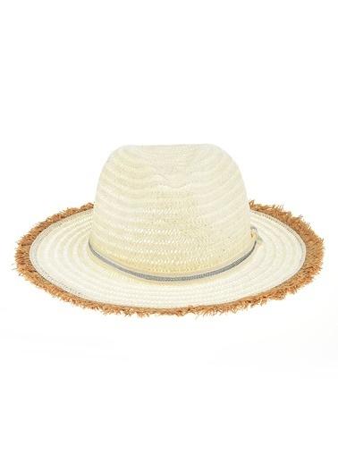 Morhipo Beach Püskül Detaylı Şapka Ekru